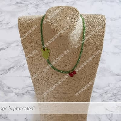 Stop Being A Cactus Necklace