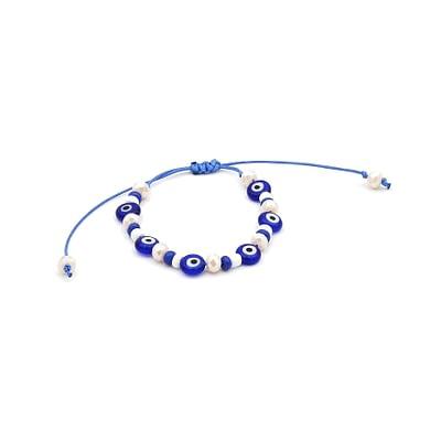 Abacus Evil Eye Bracelet