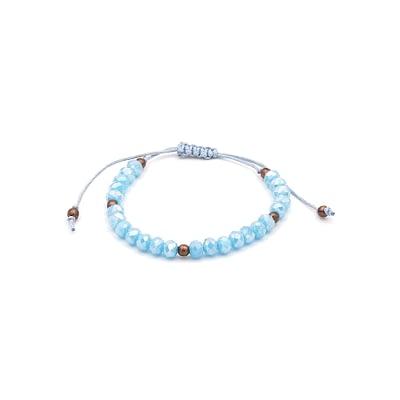 Chic Crystal Turquoise Beads Bracelet