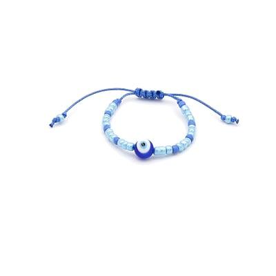 Big Blue Safekeeping Evil Eye Bracelet