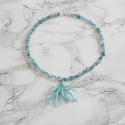 Blue Ocean Necklace