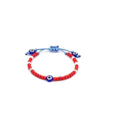 Red Evil Eye Bracelet