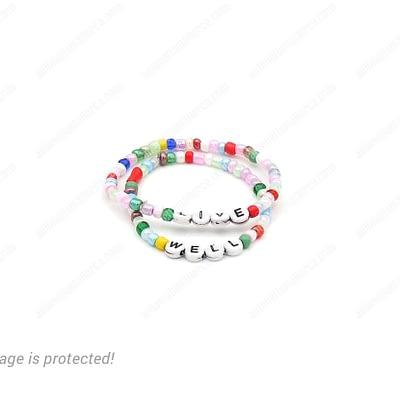 VIP Multi-Color Word Bracelets
